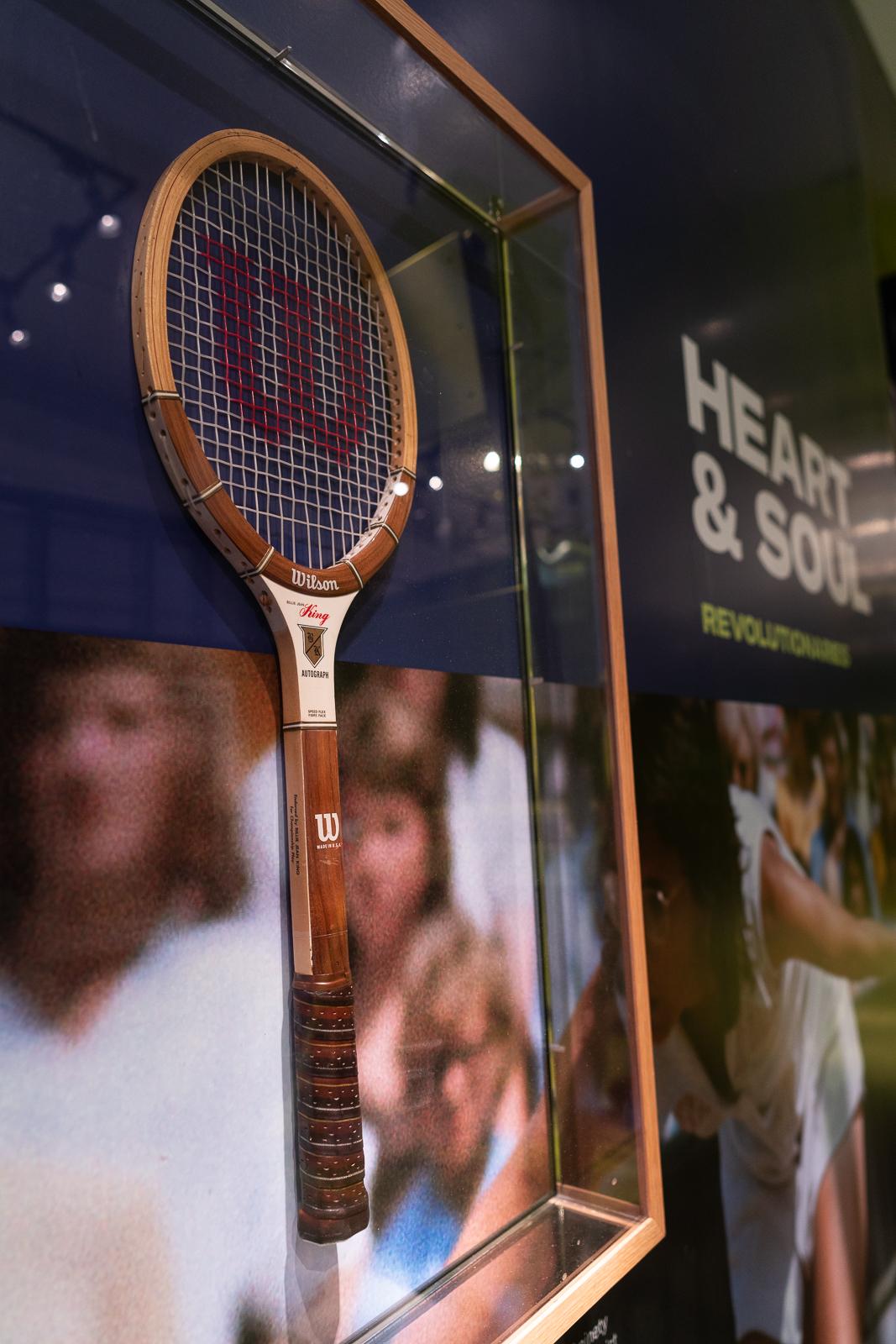 racket in exhibit