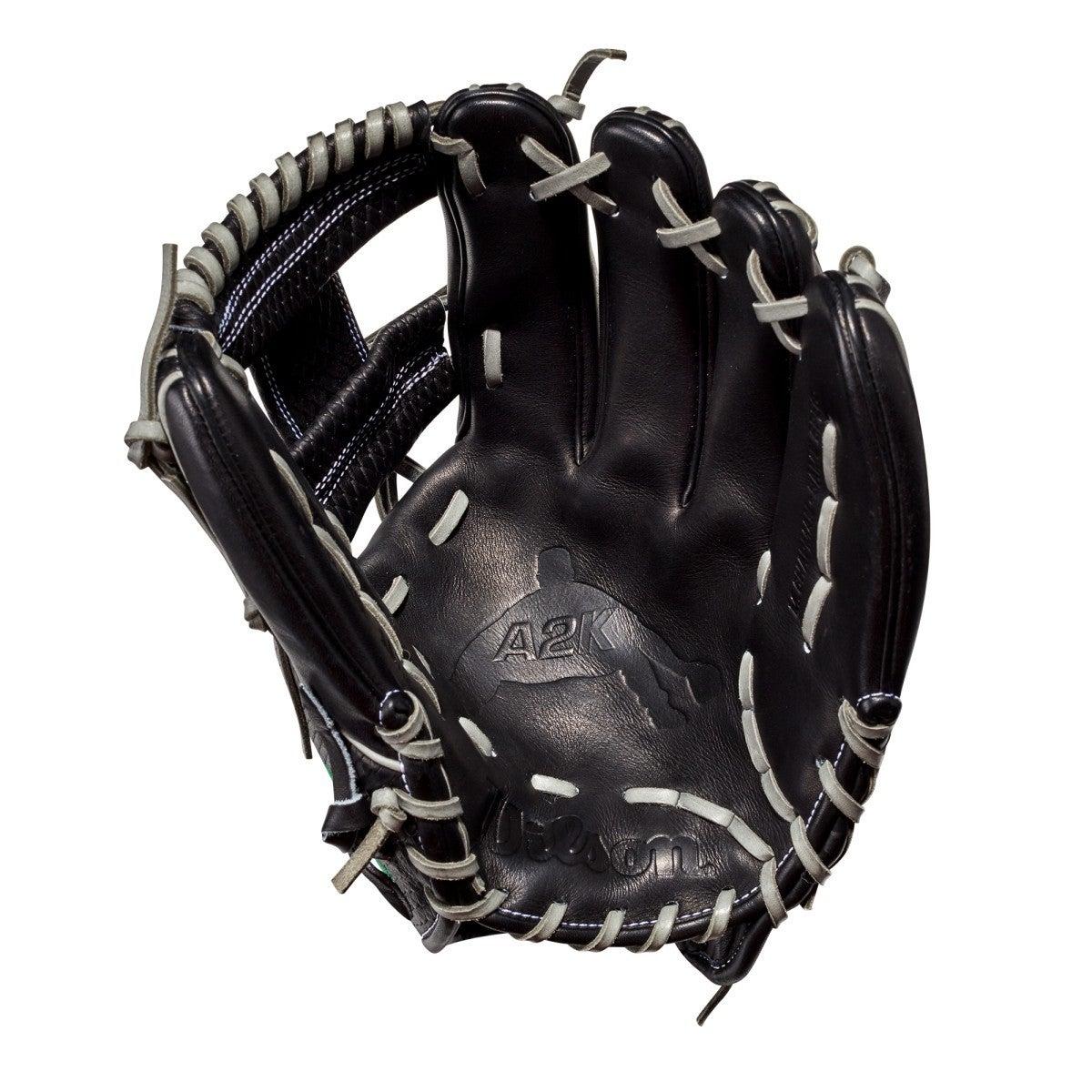 Matt Chapman's glove with palm stamp