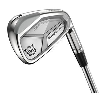 closeup of CB iron golf club head
