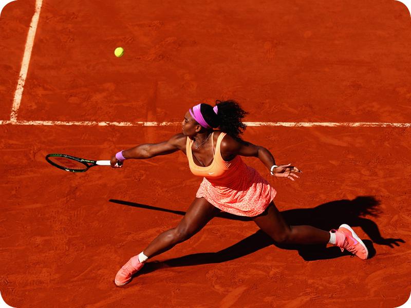 Serena Williams at her Grand Slam 11