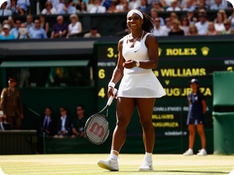 Serena Williams at her Grand Slam 13