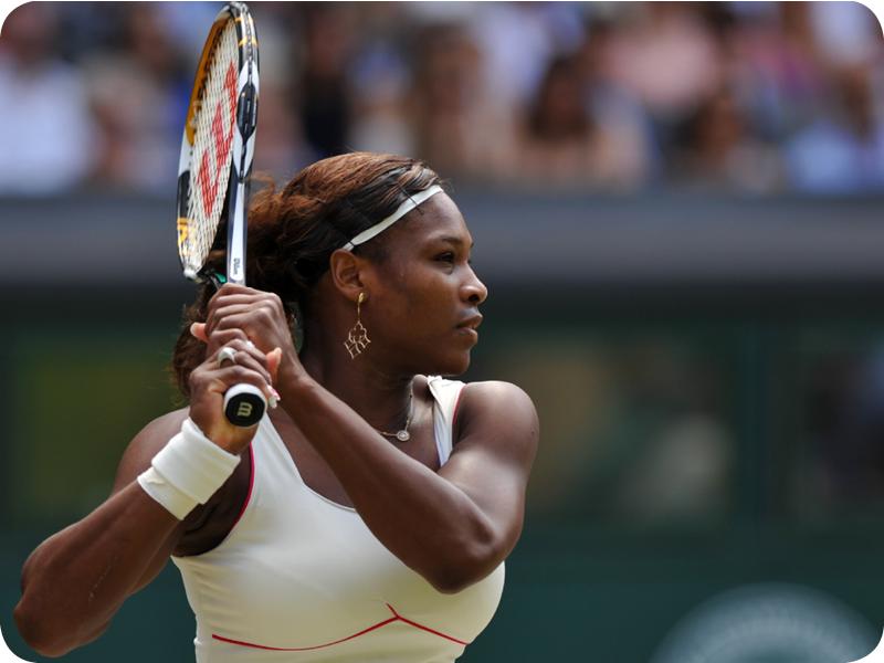 Serena Williams at her Grand Slam 16