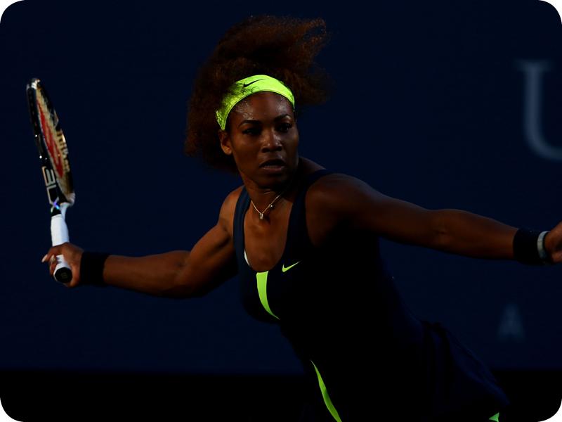 Serena Williams at her Grand Slam 19