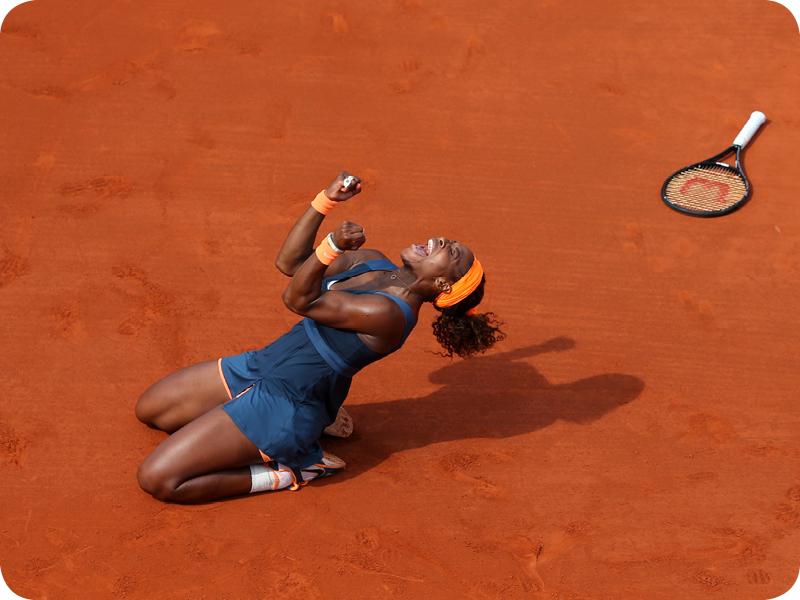 Serena Williams at her Grand Slam 20