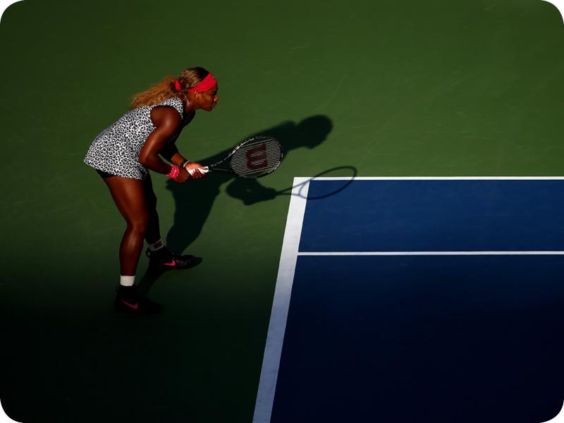 Serena Williams at her Grand Slam 22