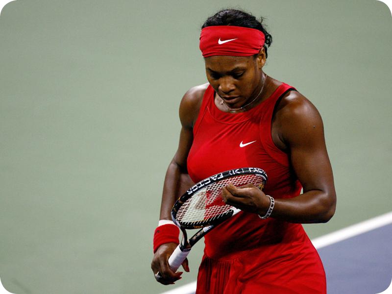 Serena Williams at her Grand Slam 9