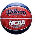 ncaa red, white, and blue basketball